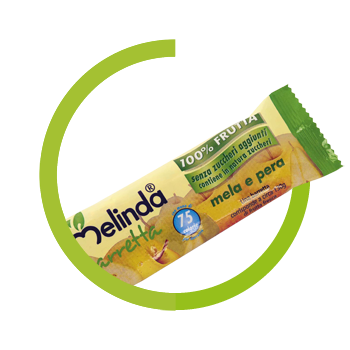 Melinda apples bar 100% fruit and pear