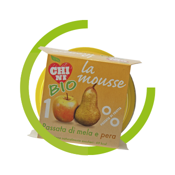 Mousse BIO Apple and pear
