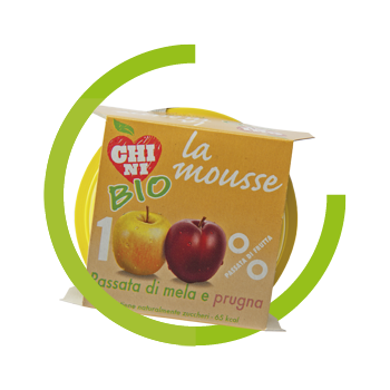 Mousse BIO Apple and plum