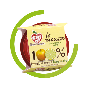 Mousse Chini Benessere - Apple Bergamot