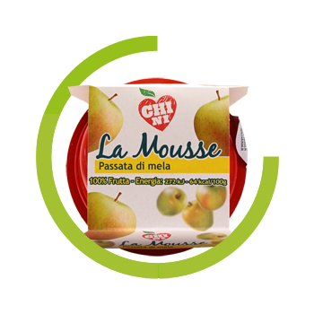 Chini apple puree 100% natural fruit