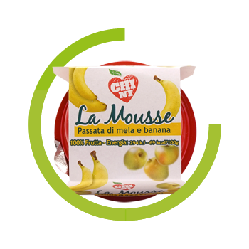 Chini puree apple and banana 100% natural fruit