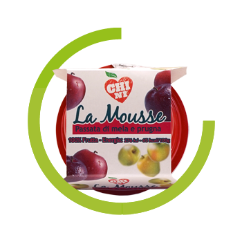 Mousse Chini 100% Apple Plum
