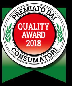 Quality Award Qualità premiata dai consumatori