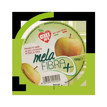Mousse passata di mela e fibra